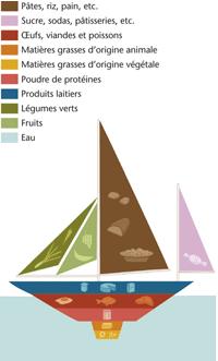 Le bateau alimentaire du culturiste