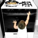 bébé dans la cuisine