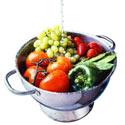 laver les fruits et légumes