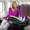 bébé en avion