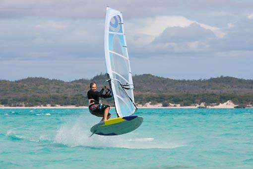 Planche à voile, surf, kite