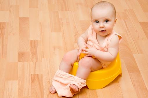 Constipation de bébé et de l'enfant