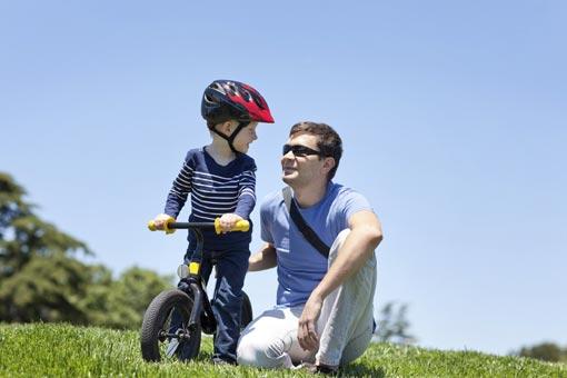 Protéger son enfant à vélo et en rollers