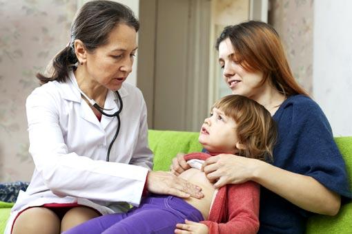 Diarrhée et gastro-entérite chez l'enfant