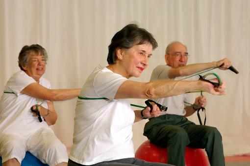 Le sport chez les seniors