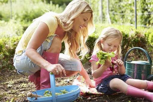 Sécuriser le jardin pour des enfants