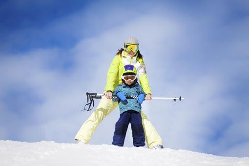 Protéger ses enfants à la montagne