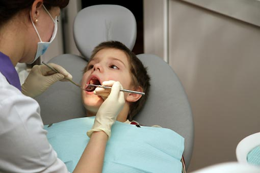 Mon enfant va chez le dentiste