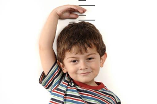 Comment suit-on la croissance des enfants?