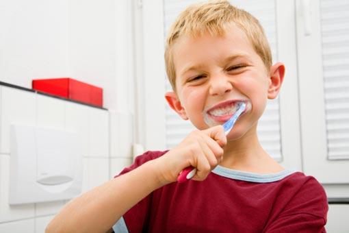 Protéger les dents des enfants