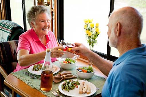Améliorer l'alimentation des personnes de plus de 75 ans