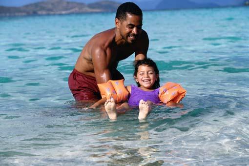 Protéger ses enfants à la mer
