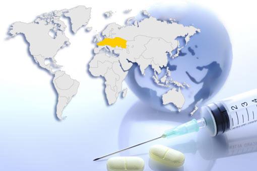 Conseils santé : Europe centrale dont Ukraine