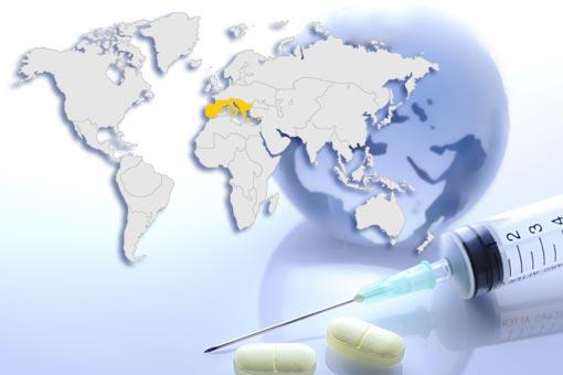 Conseils santé : Europe du Sud dont Italie